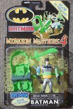 Batman Mission Masters MIDNIGHT HUNTER BATMAN Mosc New Figure Kenner