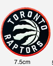NBA Toronto Raptors Logo Patch sport Embroidery  ,Iron ,Sewing on Fabric