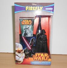 STAR WARS DARTH VADER Dental Set battery Toothbrush Beaker Toothpaste Stand NEW