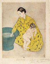 Mary Cassatt Reproductions: The Bath - Fine Art Print