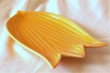 BELLISSIMO TULIPANO GIALLO-ARANCIO a forma di fiore in ceramica portacandele/PIASTRA