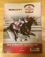 2018 Travers Stakes Program,Saratoga,Catholic Boy,Whitmore,Abel Tasman,Runhappy