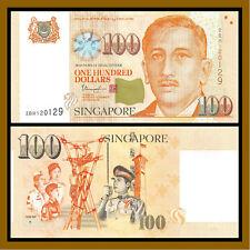 Singapore 100 Dollars, 1999 (2016) P-50 (Youth, Diamond on the Back) Unc