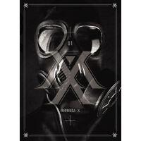 MONSTA X-[TRESPASS] 1st Album CD + 92p Booklet + Photocard K-POP Sealed