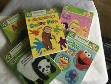 Leap Frog Tag Junior Princess Panda Bear ABC Lot of 5 Interactive Books
