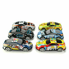 6x Mini Models Alloy Scooter Car Simulated Racing Toys for Children Boy Gifts UK