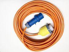 Landanschlusskabel CEE 230V auf Hubbell Kupplung 16A 230V mit 25m Kabel Art. 859