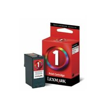 Lot of 2 Lexmark #1 Color Ink Cartridges GENUINE NEW