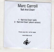 (HM403) Marc Carroll, Ball And Chain - 2015 DJ CD
