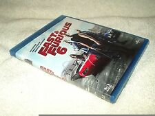 Blu Ray Movie Fast & Furious 6 Swedish Edition