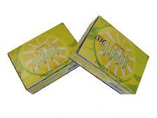 2 Boxes of NagChampa Lemon LIME Soaps