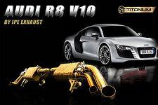 IPE TITANIUM LINE FOR Audi R8 V10  X pipe + valvetronic muffler + remote control
