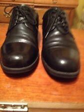 CHAP'S  Men's Black Genuine Leather lace up Shoes   10.5 M