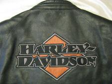 Harley Davidson Leather Jacket H-D Cafe Racing stripe Midtown Limited Mens 2XL