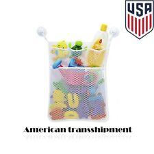 1Pc Fashion New Baby Toy Mesh Storage Bag Bath Bathtub Doll Organizer Holder Us