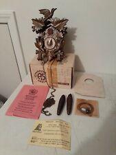 Original Schwarzwalder Kuckucksuhr Black Forest Cuckoo Clock New In Box