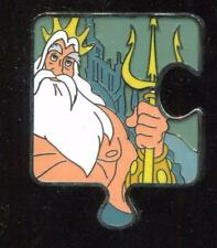 Character Connection Puzzle Mystery Little Mermaid King Triton LE Disney Pin