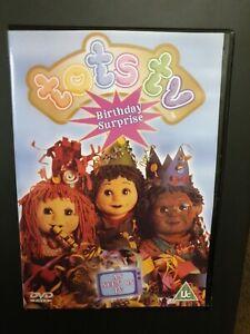 TOTS TV BIRTHDAY SURPRISE DVD KIDS 3 EPISODES