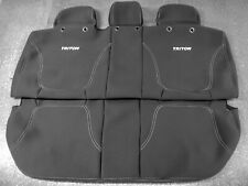 GENUINE MITSUBISHI MN TRITON REAR NEOPRENE SEAT COVER AUG 2009 - MAY 2015
