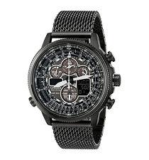 CITIZEN JY8037-50E Navihawk A-T Eco-Drive Radio Chronograph Men's Black Watch