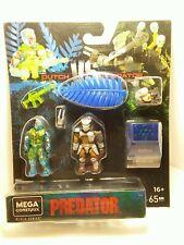 Mega Construx Black Series - Thermal Dutch vs Predator 2 pack - NEW / SEALED