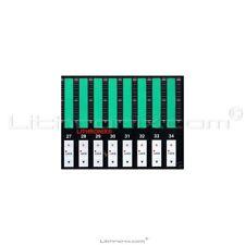 Komori Lithrone 40 PQC C D DII Console Ink Key Membrane