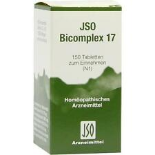 JSO BICOMPLEX Heilmittel Nr. 17 150St PZN: 0544987
