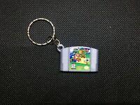 N64 Super Mario 64 3D Printed Cartridge Keychain Nintendo 64