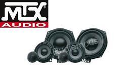 MTX MTXTX6.BMW 3-Way composant de haut-parleur mise à niveau pour BMW 1 Series E82 E87 E88