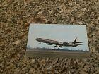 Lloyd International UK Boeing 707 airport takeoff airline issued postcard