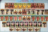 1972~1982 Topps O-Pee-Chee ROGIE VACHON Goalie HOF Lot x 46 Vintage   Rogatien