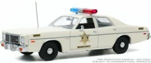 GREENLIGHT 19092 1975 Dodge Coronet Hazzard County Sheriff Police model car 1:18