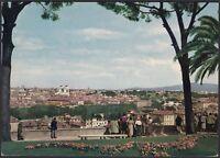 AA5974 Roma - Città - Veduta panoramica dal Gianicolo - Cartolina - Postcard