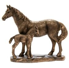 Reflections by Leonardo BRONZE Standing Horse & Foal Boxed Gift Ornament