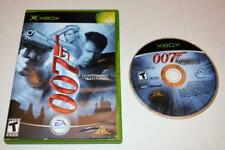 JAMES BOND 007: EVERYTHING OR NOTHING MICROSOFT ORIGINAL XBOX GAME NO MANUAL