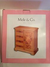 Beautiful Wooden Tatiana Jewellery Chest by Mele & Co.