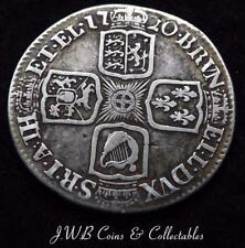 1720 George I Silver Shilling Coin