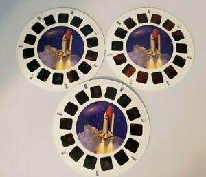 Secrets of Space Viewmaster Reel Set of 3 - 36350