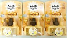 Febreze 3volution Ambi Pur Plug Refills Vanilla Latte 20ml  X3 Packs