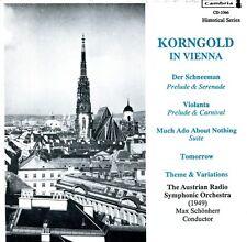 Erich Wolfgang Korngold - Korngold in Vienna [New CD]