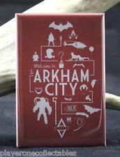 Welcome to Arkham City - Fridge / Locker Magnet. Batman Joker Catwoman