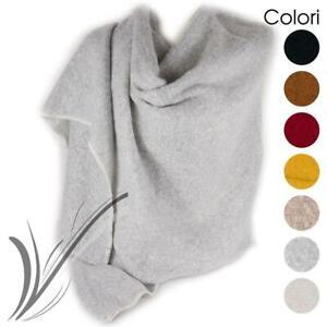 Sciarpa grande sciarpone da donna scialle ragazza coprispalle invernale calda