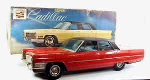 "1965 Cadillac De Ville 26"" (66 cm) Japanese Tin Car by Toy Nomura NR"