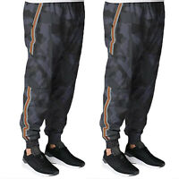 Men's Camo Casual Army Long Pants Harem Joggers Hiking Sport Sweatpants Trousers