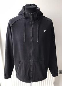 Nike Mens Modern Zip Up Hoodie Black Size Large