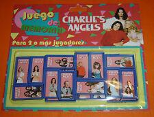 CHARLIE's ANGELS tv serie MEMORY GAME Argentina toy FARRAH FAWCETT Cheryl Lad