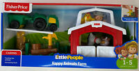 Fisher Price Little People Happy Animals Farm 1-5 Years Toddler To Preschool