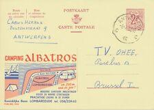 BELGIUM ANTWERPEN C C 15 SC 1963 (Postal Stationery 2 F, PUBLIBEL 1904)