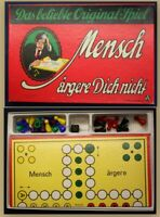 Mensch ärgere Dich nicht! um 1970 Gesellschaftspiel komplett Freizeit sf