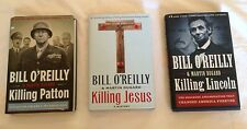 Killing Jesus Lincoln Patton Bill O'Reilly hardcover lot of 3 history religion